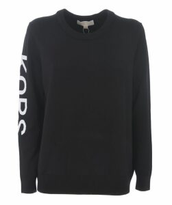 Logo Sleeve Print Sweatshirt