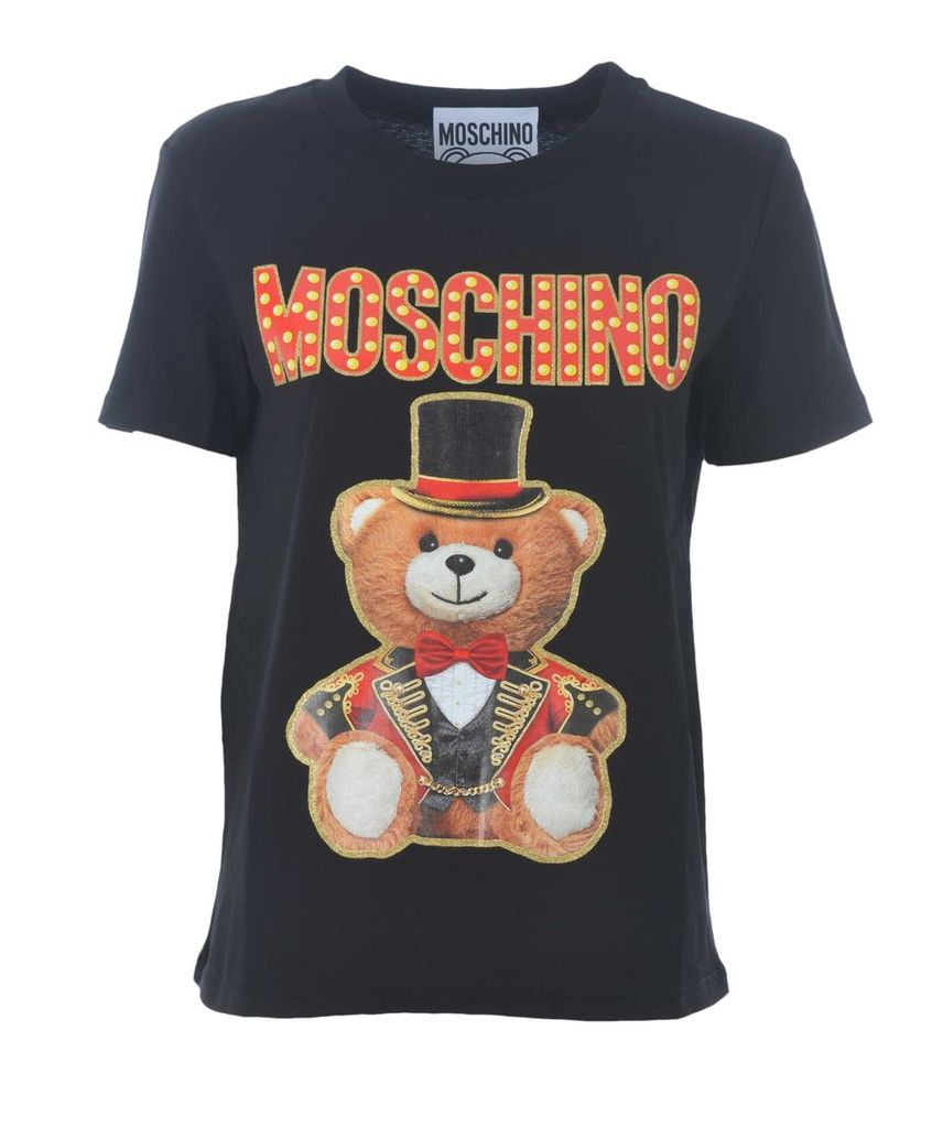 Moschino Teddy Bear Logo Short T-shirt