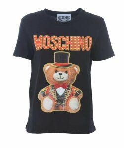 Teddy Bear Logo Short T-shirt
