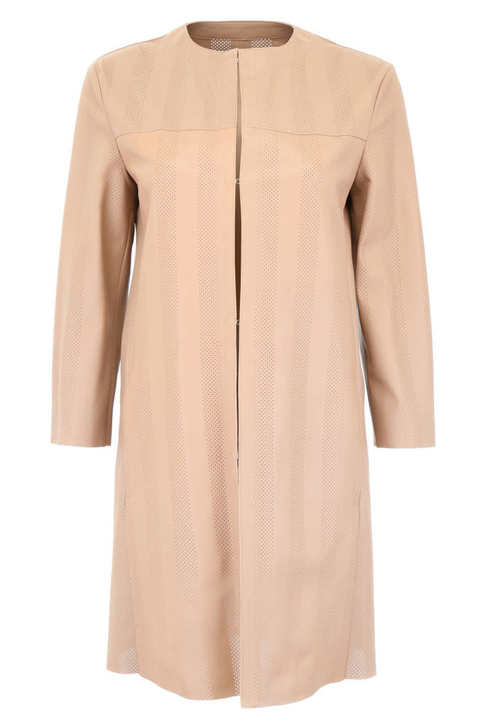 DROMe Perforated Leather Coat
