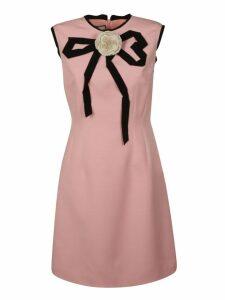Gucci Floral Applique Dress