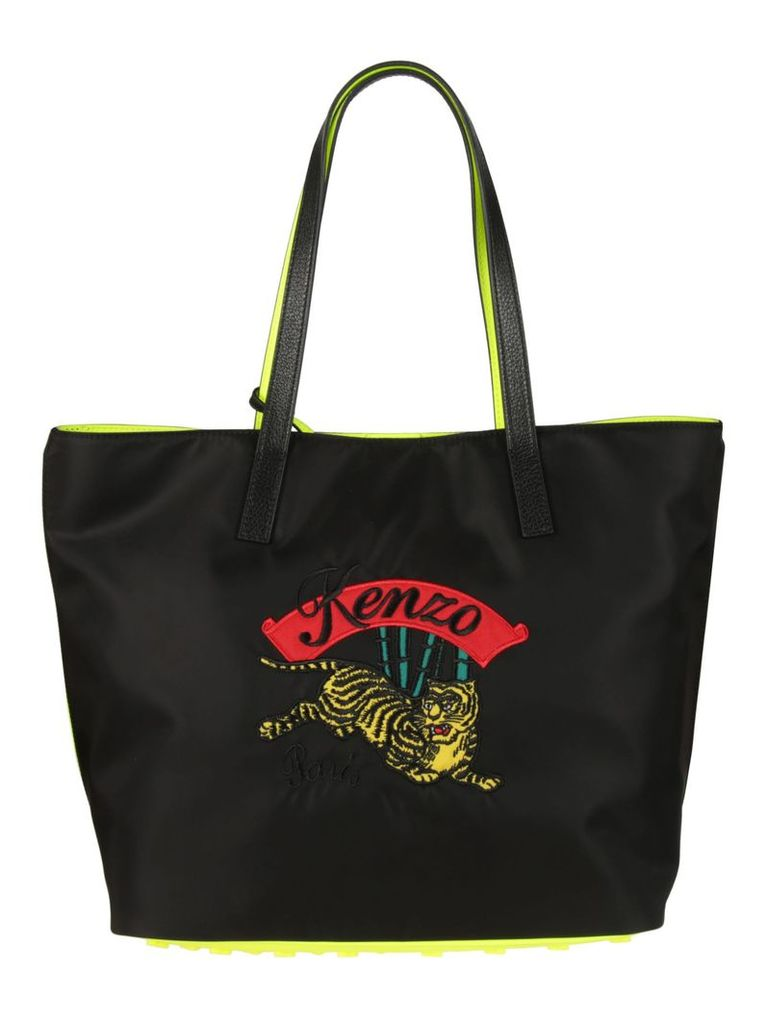 Kenzo Embroidered Logo Tote