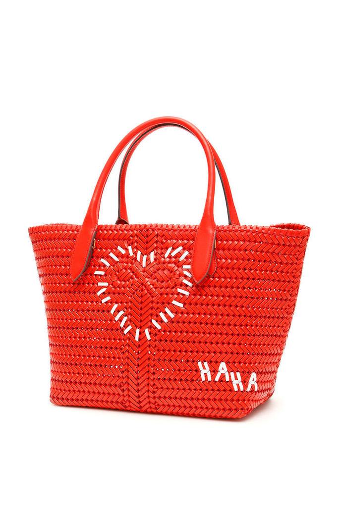 Anya Hindmarch Heart Neeson Tote Bag