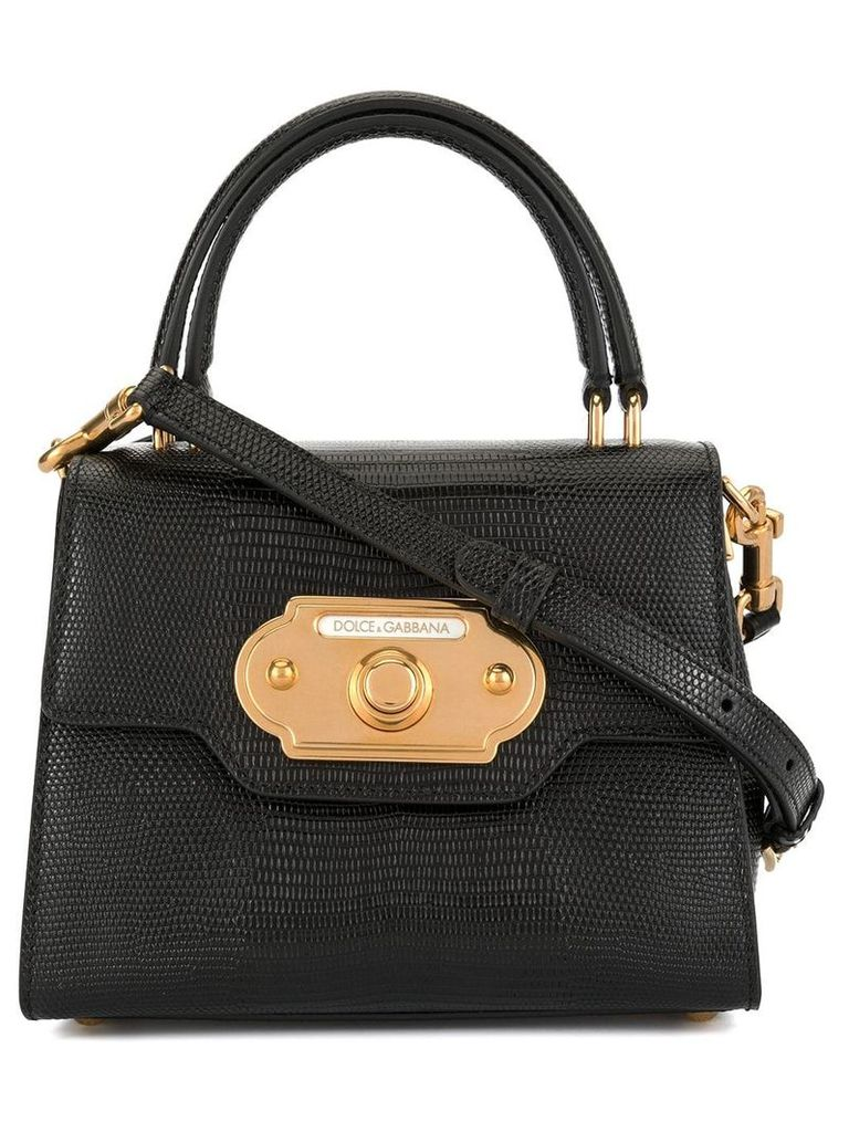Dolce & Gabbana mini Welcome bag - Black