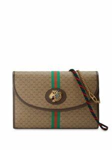 Gucci Rajah GG medium shoulder bag - Brown