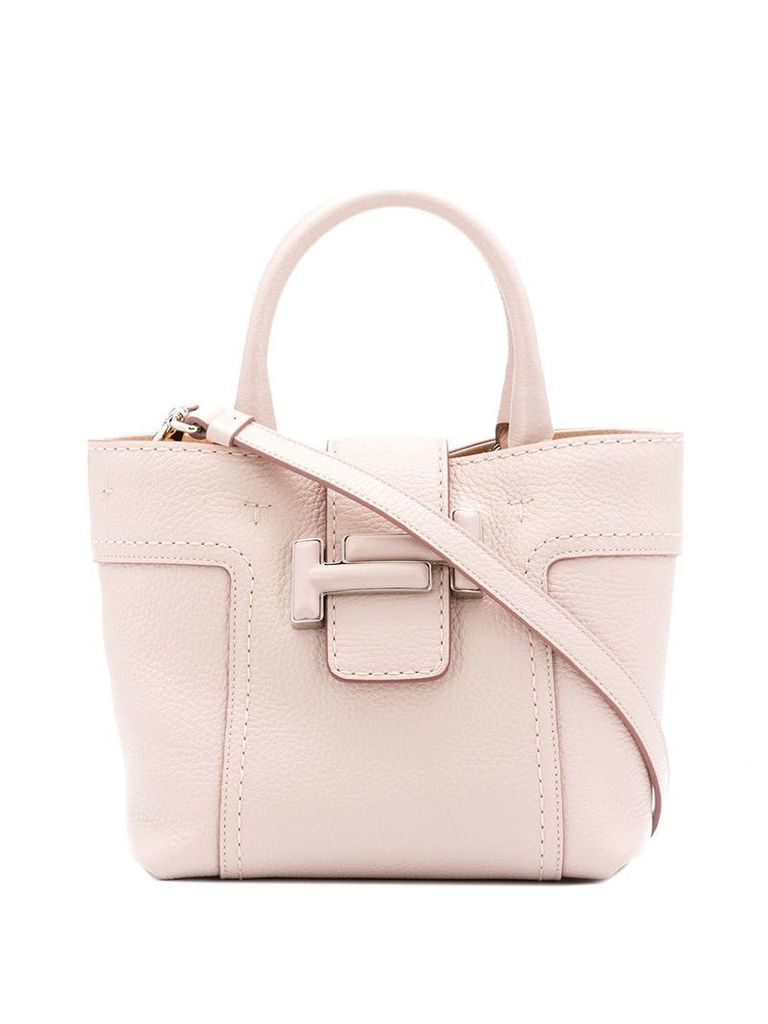 Tod's double T tote bag - Pink
