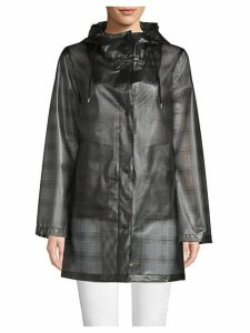 Plaid Raincoat