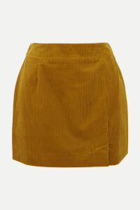 Markus Lupfer - Mary Striped Plissé-knit Midi Dress - Blue