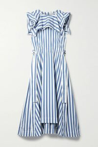 REJINA PYO - Coated-cotton Trench Coat - Taupe