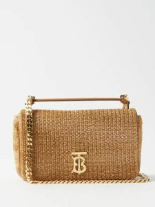 Balmain - Fringed Metallic Tweed Skirt - Womens - Black