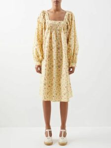 Balmain - Double Breasted Wool Twill Blazer - Womens - Navy