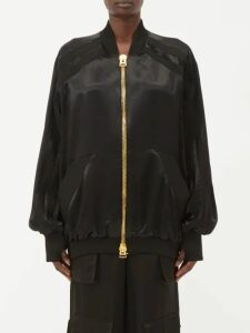Lemaire - Silk Blend Wrap Skirt - Womens - Beige