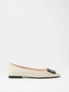 Emilia Wickstead - Fred King Pleated Crepe Midi Skirt - Womens - Light Brown