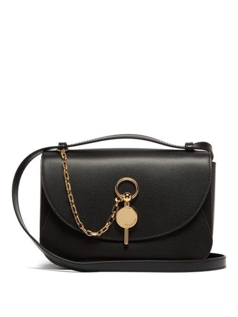 Jw Anderson - Keyts Leather Cross Body Bag - Womens - Black