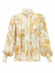 Jw Anderson - Keyts Leather Cross Body Bag - Womens - Red