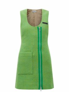 Jw Anderson - Nano Keyts Leather Cross Body Bag - Womens - Red