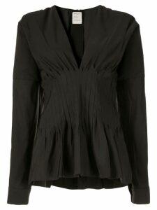 Maison Rabih Kayrouz v-neck blouse - Black