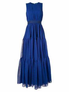 Maison Rabih Kayrouz tiered gown - Blue