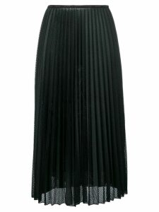 Moncler pleated midi skirt - Black