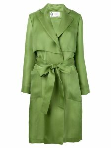 Lanvin fluid trench coat - Green
