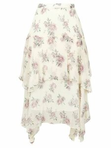 Love Shack Fancy Alex skirt - Neutrals