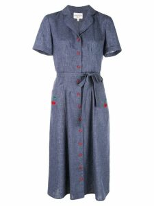 HVN shirt dress - Blue