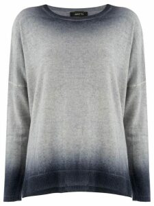 Avant Toi bleached effect sweater - Grey
