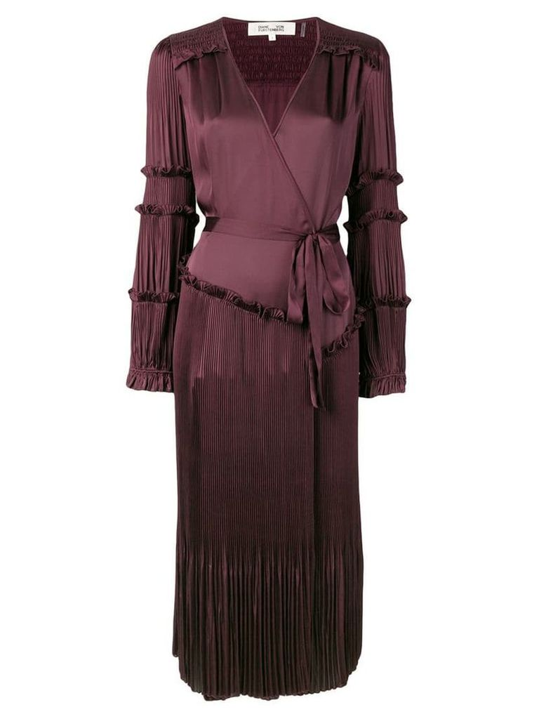 Dvf Diane Von Furstenberg purple Keira dress