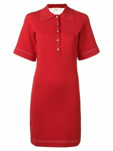 Ports 1961 polo T-shirt dress - Red