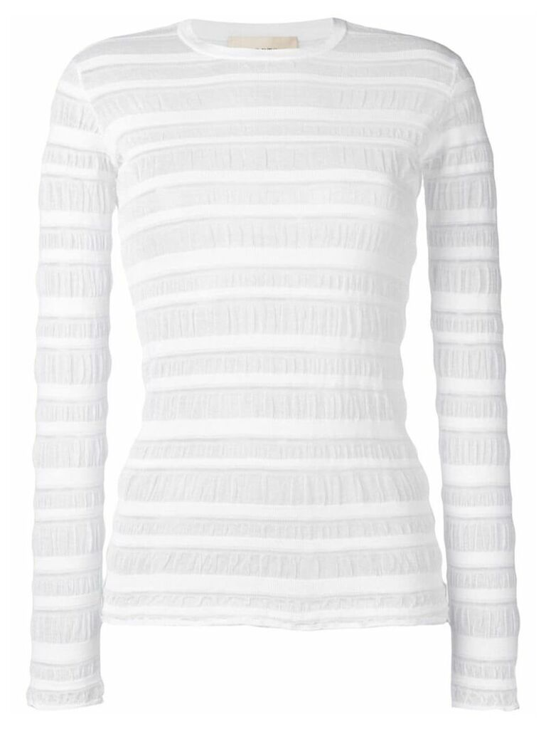Ports 1961 sheer panel jumper - White