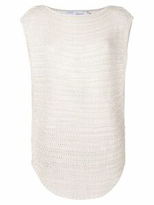 Iro knitted vest top - Neutrals