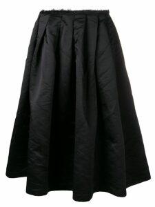 Comme Des Garçons full midi skirt - Black