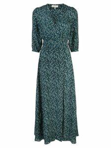 Hansine V-neck dress - Green