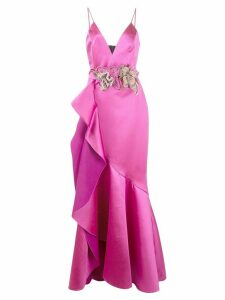 Patbo tiered bouquet dress - Pink