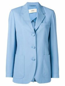 Ports 1961 tailored blazer jacket - Blue