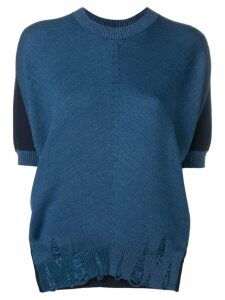Junya Watanabe relaxed-fit top - Blue