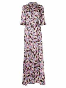 Erdem Karissa floral gown - Purple