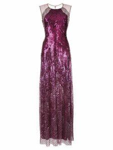 Jenny Packham sequin gown - Purple