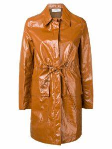 Ports 1961 classic vinyl coat - Brown