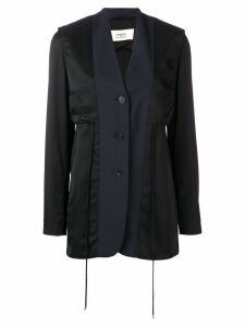 Ports 1961 tailored panelled blazer - Black
