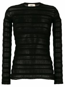 Ports 1961 sheer panel jumper - Black