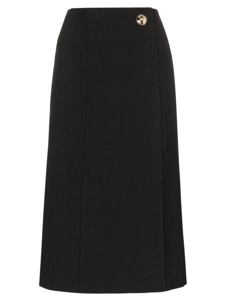 Givenchy High-waist wrap front skirt - Black