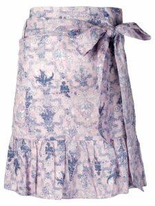 Isabel Marant Étoile floral print mini skirt - Pink