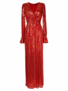 Jenny Packham sequin gown - Red