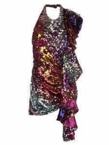 Halpern sequin dress - Multicolour