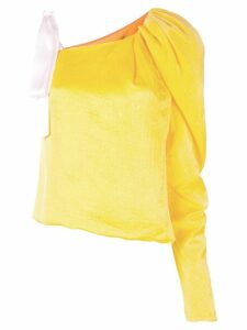 Hellessy one shoulder blouse - Yellow
