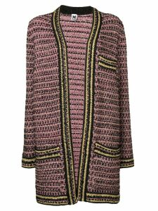M Missoni metallic knit cardi-coat - Pink