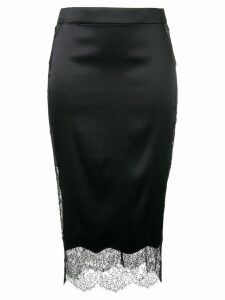 Tom Ford lace hem skirt - Black