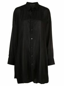 Yohji Yamamoto Spun Lawn shirt - Black