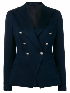 Tagliatore formal blazer jacket - Blue